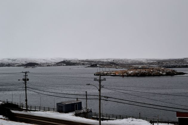 Port aux Basque (with the contrast turned way up!)
