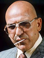 Telly Savalas as Kojak, circa 1974