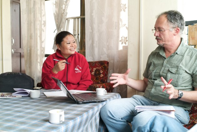 Meeting Mala, the MCK agricultural advisor