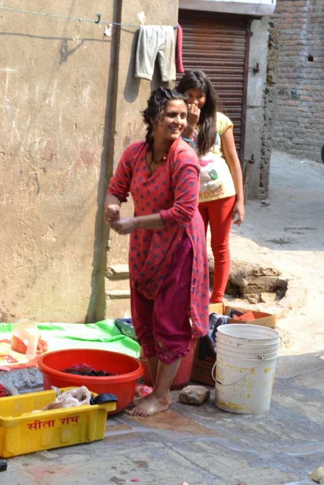 Wash day in Kathmandu