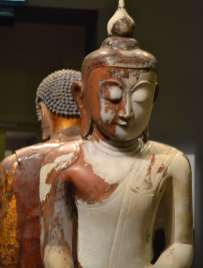 Statues in the Museum of Asian Civilisations